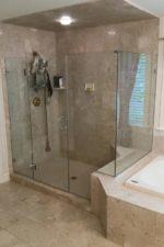 After Replacing the Shower Door