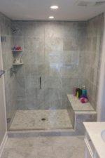 Custom Shower Door by Bryn Mawr Glass