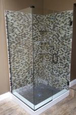 Bryn Mawr Glass custom shower door