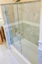 Double Glass Shower Door