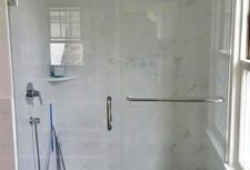 Custom Frameless Glass Shower Door