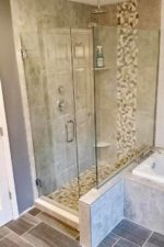 Corner Glass Shower Enclosure by Bryn Mawr Glass