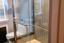 Frameless Glass Shower Door by Bryn Mawr Glass