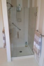 After Installing a Frameless Glass Shower Door